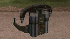 Код на Jetpack из GTA San Andreas