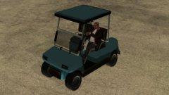 Код на гольфкар Caddy из GTA San Andreas