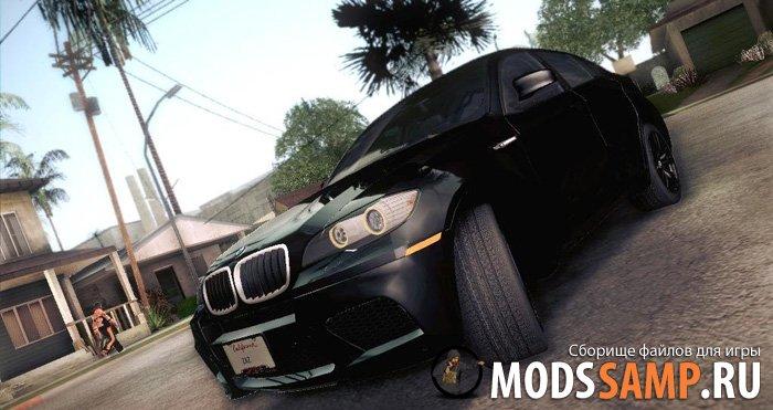BMW X6M для GTA:SA