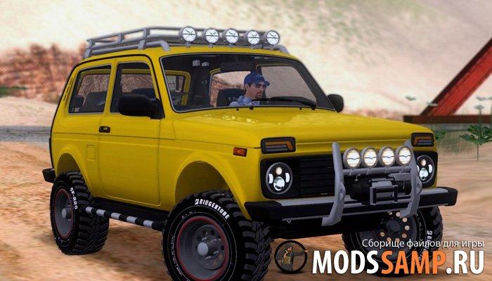 ВАЗ 2121 Нива Offroad для GTA:SA