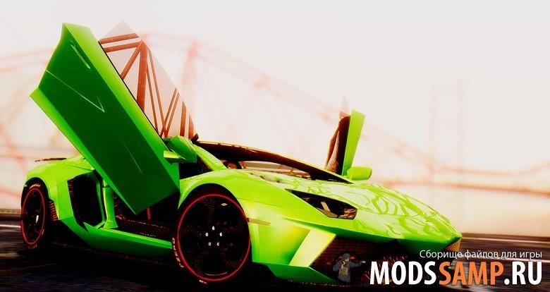 Lamborghini Aventador Mansory для GTA:SA