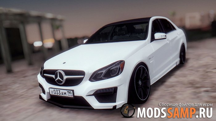Mercedes-Benz E63 GSC для GTA:SA