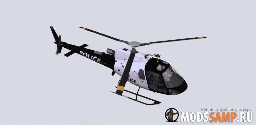 Вертолёт полиции из GTA 5 для GTA:SA