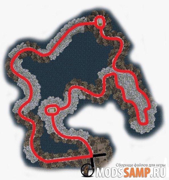 Карта гоночной трассы