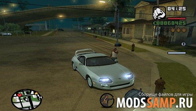 GTA San Andreas Форсаж