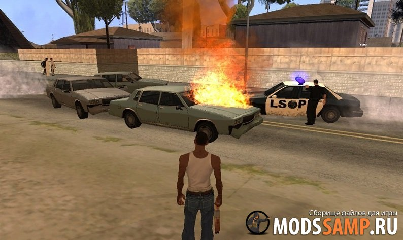 Новые эффекты GTA:SA