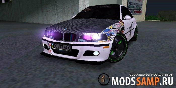 BMW M3 E46 JDM для GTA:SA