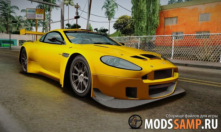 Aston Martin Racing Dirt для GTA:SA