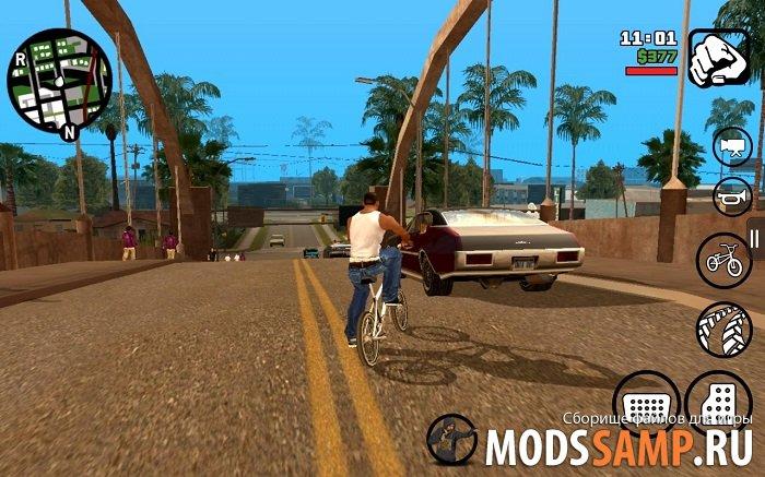 GTA San Andreas на Android