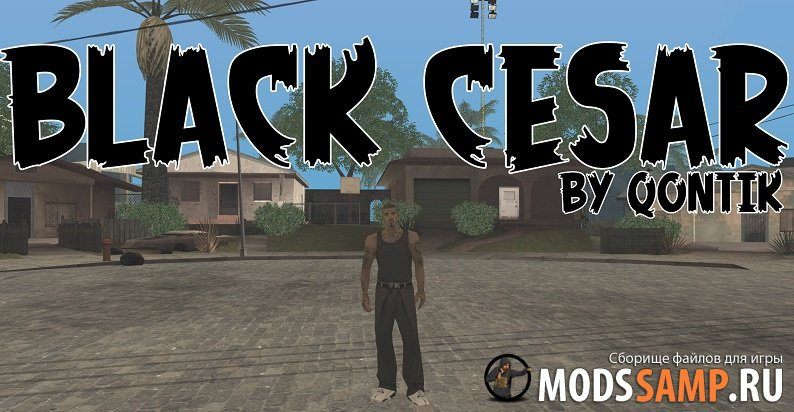 Скин BLACK CESAR от QONTIK