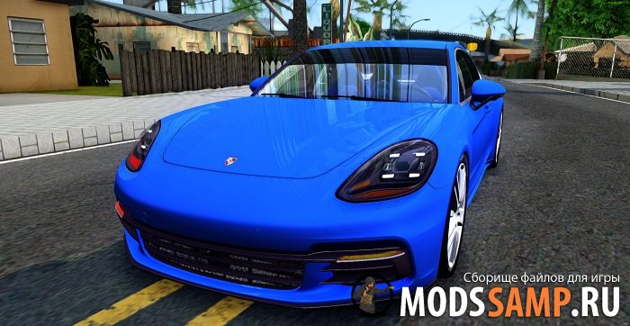 Porsche Panamera 4S 2017 для GTA:SA