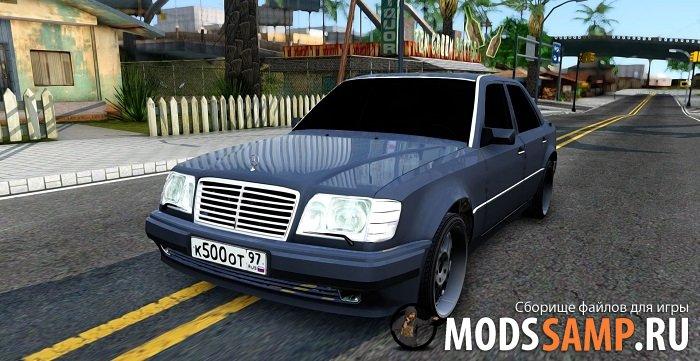 Mercedes-Benz W124 E500 для GTA:SA