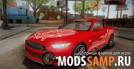 Ford Mustang GT 2015 5.0 PJ для GTA:SA