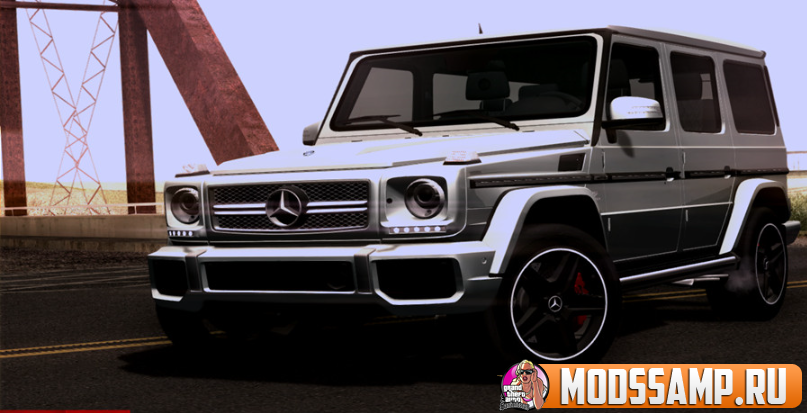 Mercedes-Benz G65 AMG 2013 для GTA:SA
