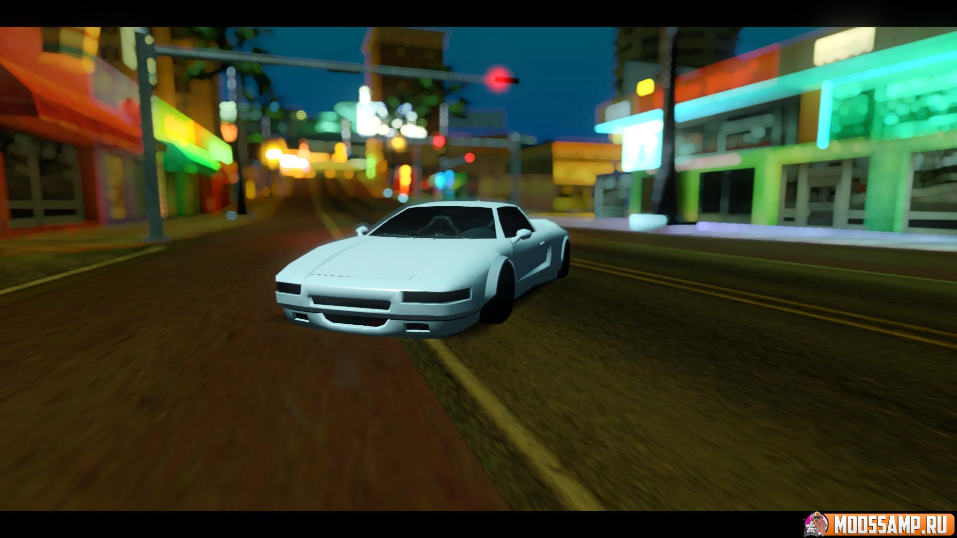 Infernus Rocket Bunny by zveR для GTA:SA