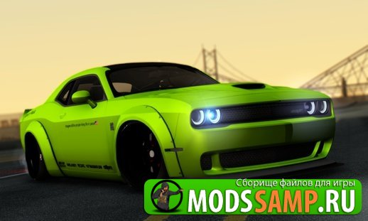 Dodge Challenger от iPhone для GTA:SA