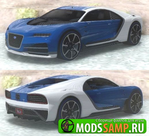 GTA V Truffade Nero Custom от iPhone для GTA:SA
