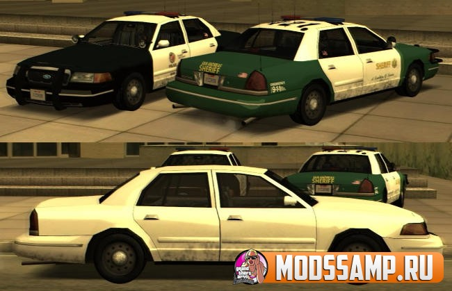 Полицейские машины LS и SF для GTA:SA