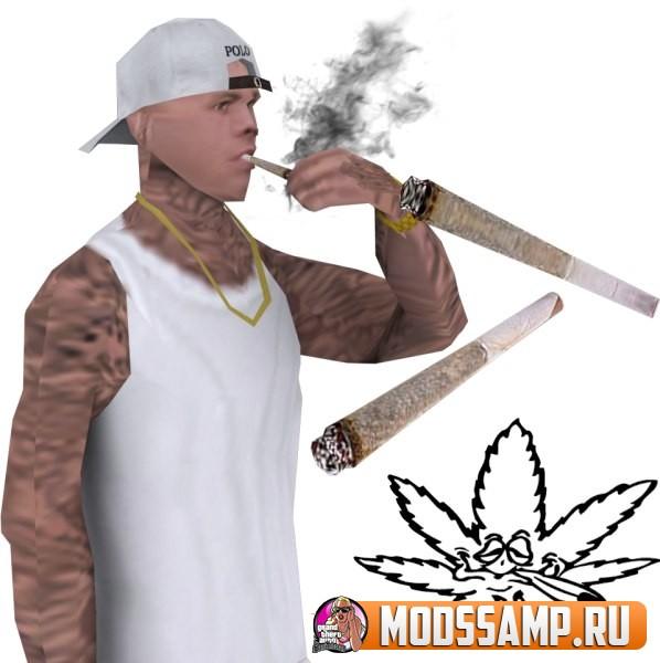 Новые текстуры Сигарет для GTA:SA