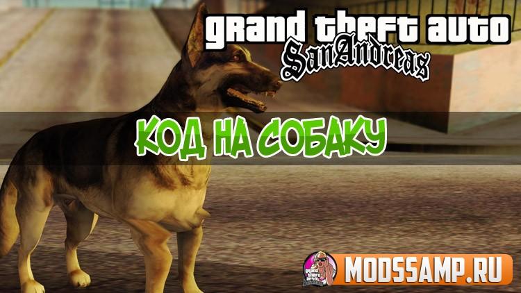 Коды на собаку на ГТА Сан Андреас