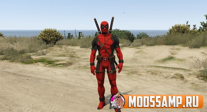 Скин Deadpool для GTA 5