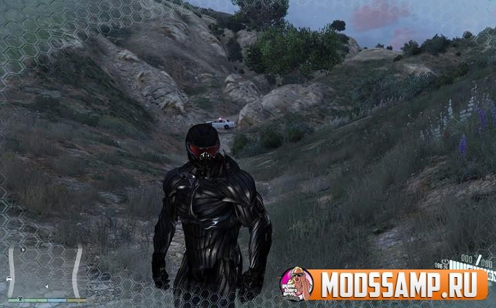 Мод Crysis для GTA 5 (нанокостюм)