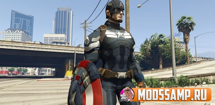 Мод на Капитана Америку для ГТА 5
