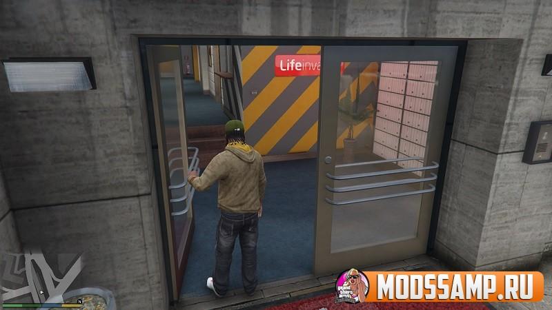 Open All Interiors - открытые здания в GTA 5