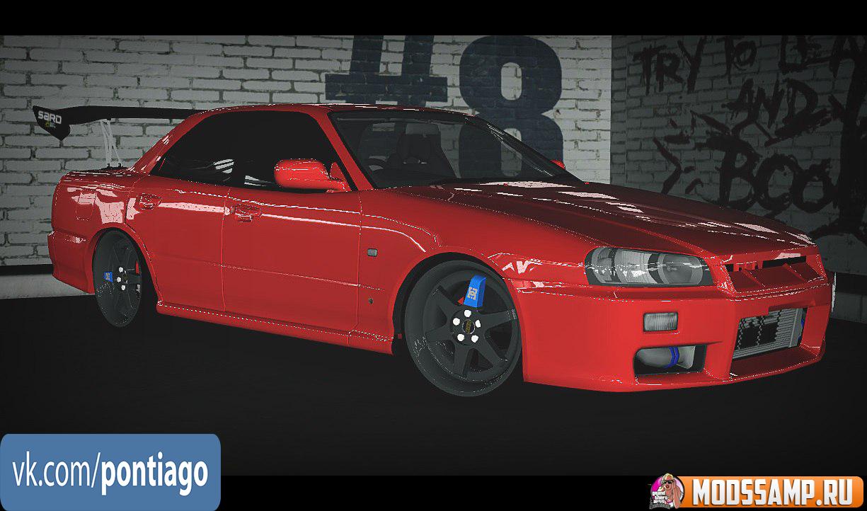 Nissan Skyline (Uranus) для GTA:SA
