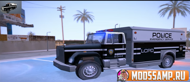 SWAT car by NokiANS для GTA:SA