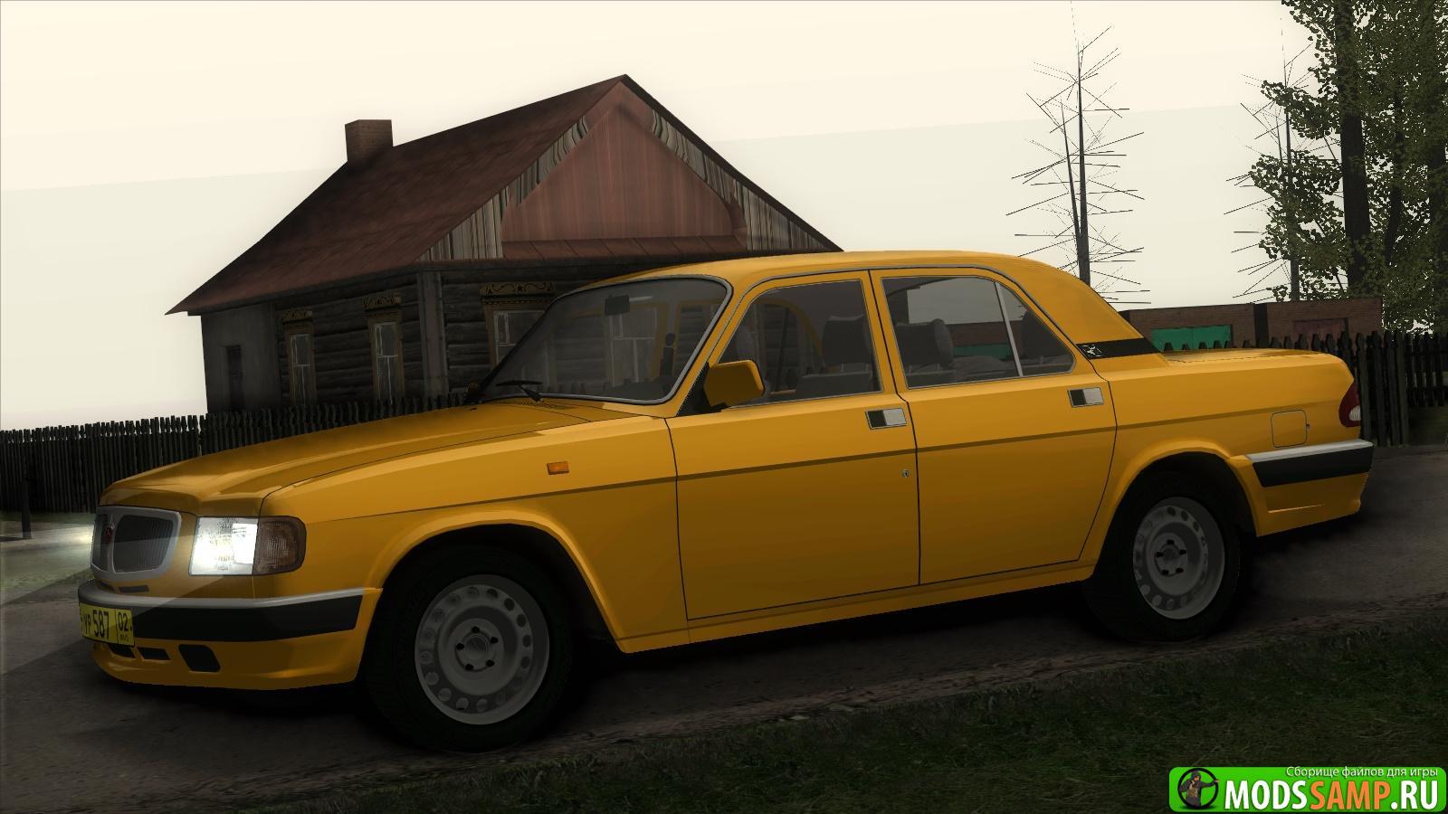 ГАЗ 3110 Волга Такси для GTA:SA