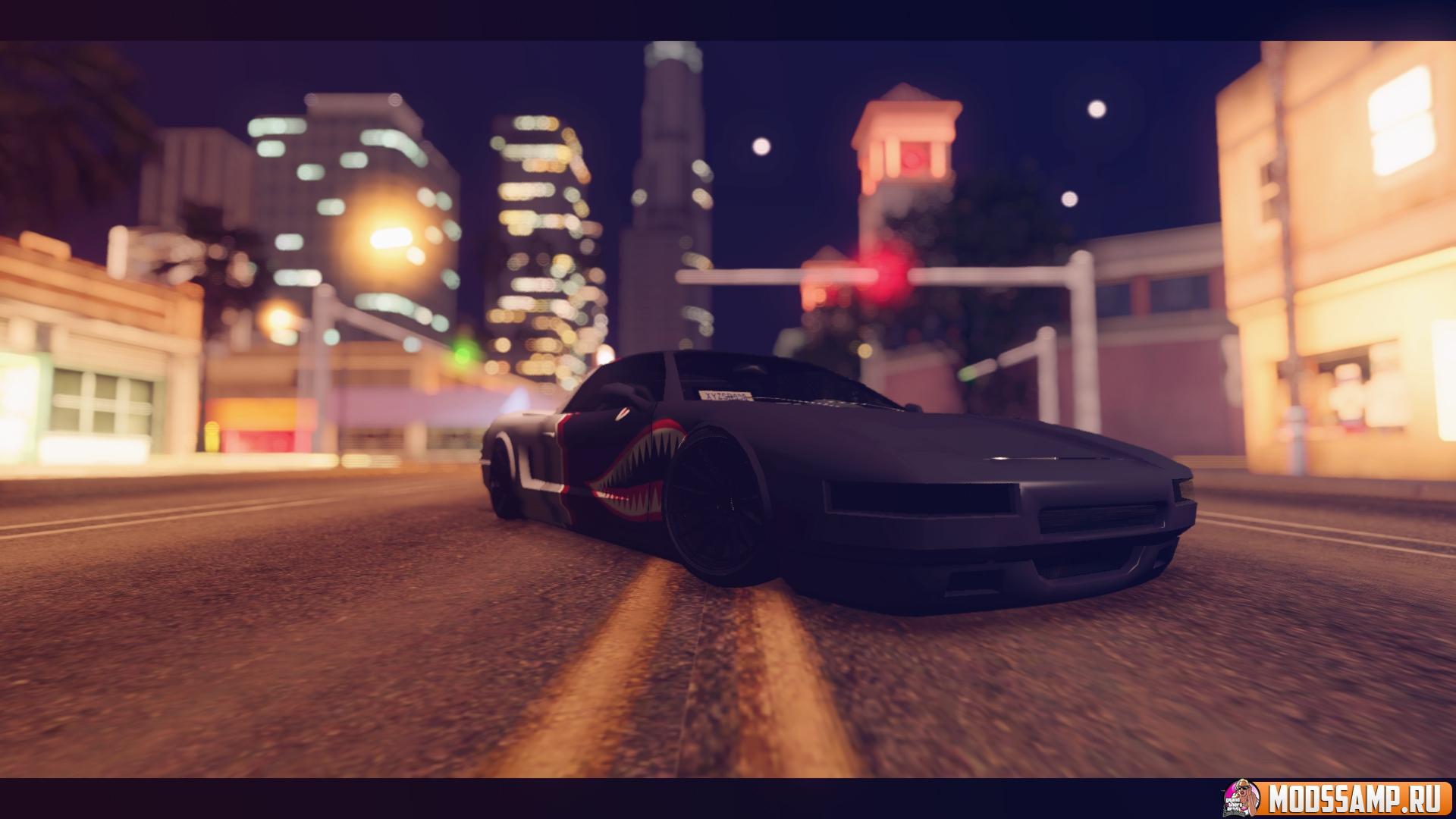 Infernus с Акулой от ZveR для GTA:SA