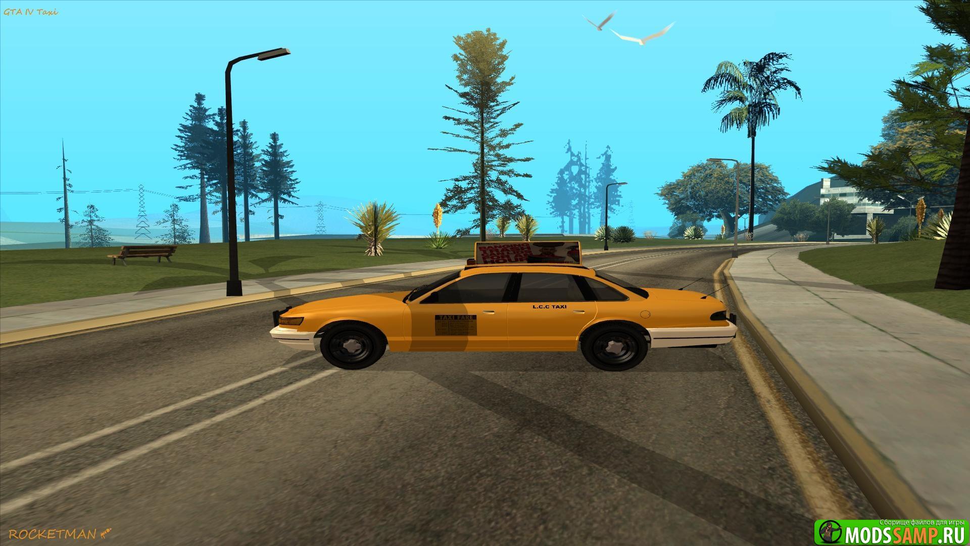 GTA IV Taxi для GTA:SA