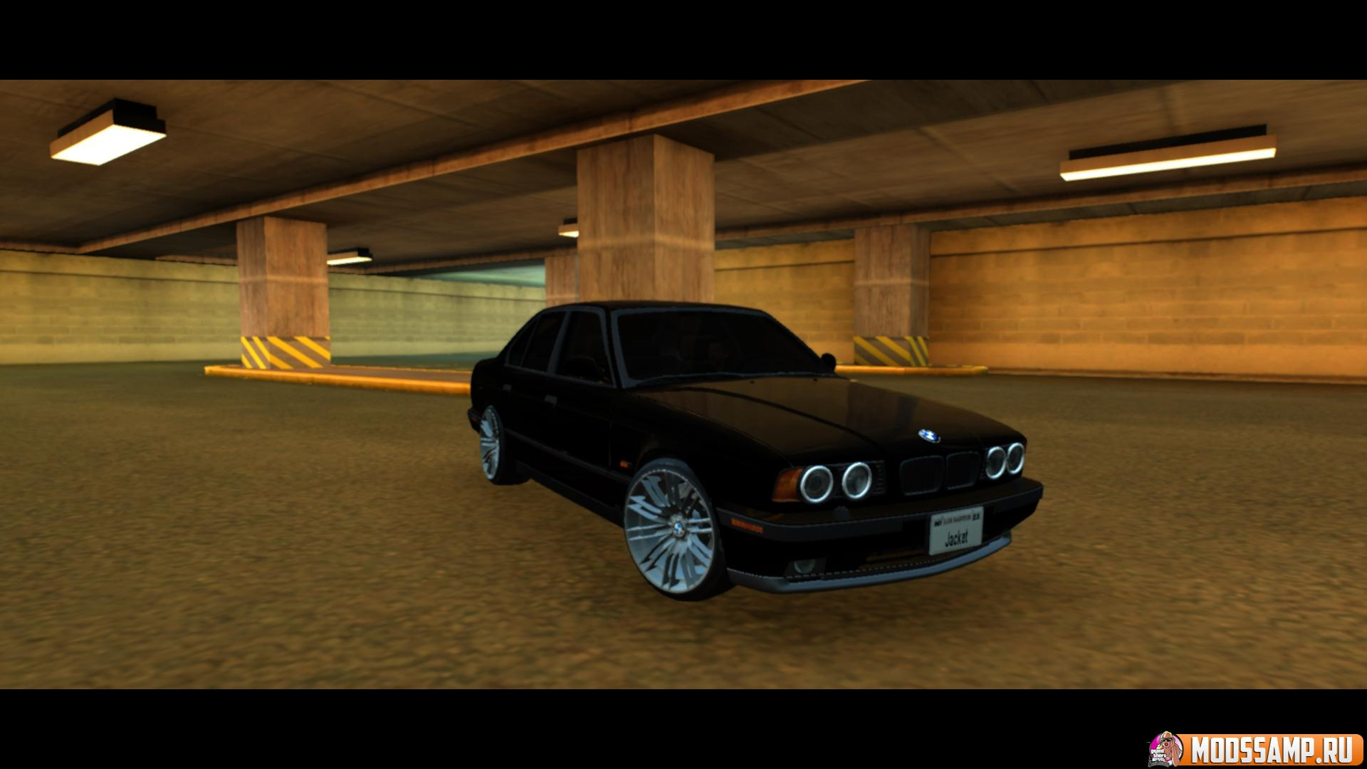 BMW M5 E34 Full Tunable для GTA:SA