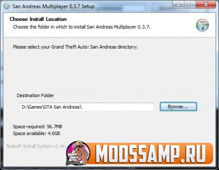 Как установить САМП 0.3.7