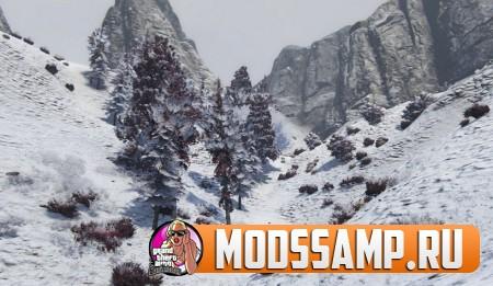 Мод на зиму для GTA 5 (Snow Mod)