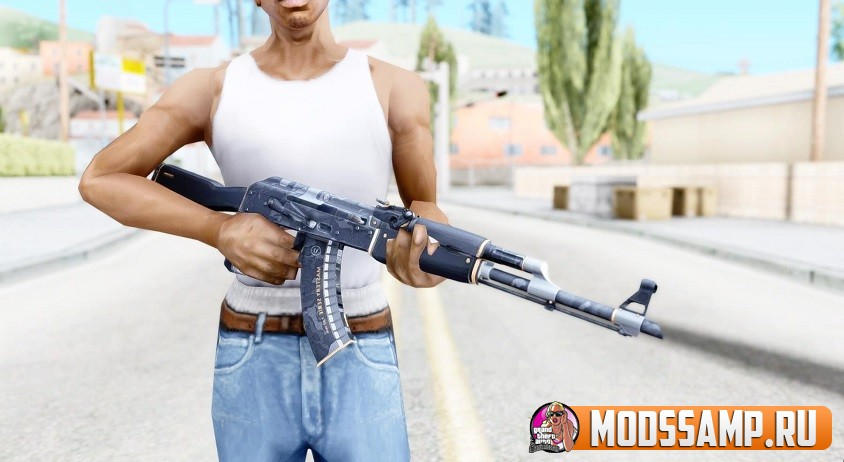 AK-47 Элитное снаряжение для GTA San Andreas