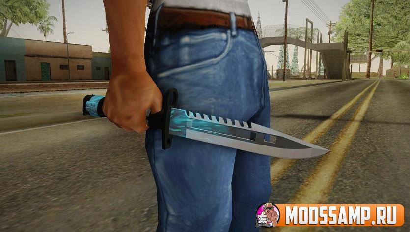 Нож M9 Bayonet BlueSparks для GTA San Andreas