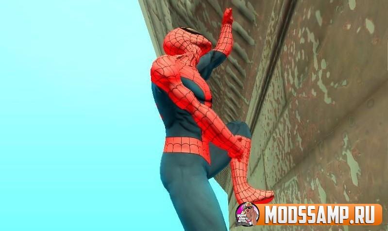 КЛЕО человек-паук для GTA San Andreas