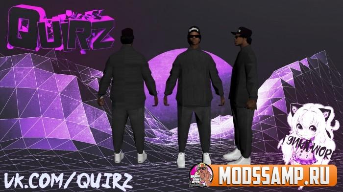 Приватный скин BALLAS2 от Quiz mods