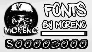 FONTS от MORENO