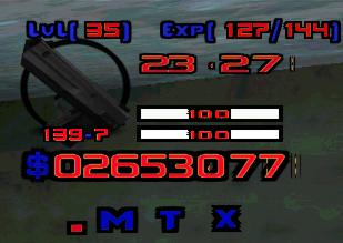 Простой шрифт для GTA и SAMP от .MatriX