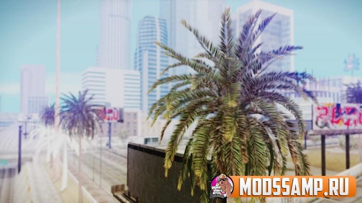 Текстуры пальмы из GTA 5 для GTA:SA