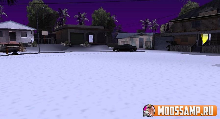 Скрипт Снег в Лос Сантосе