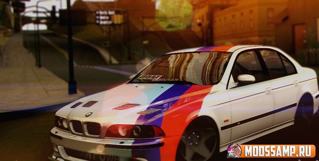 BMW M5 E39 Россия для GTA:SA