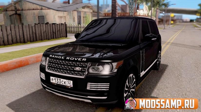 Range Rover SVA (AcademeG) для GTA:SA