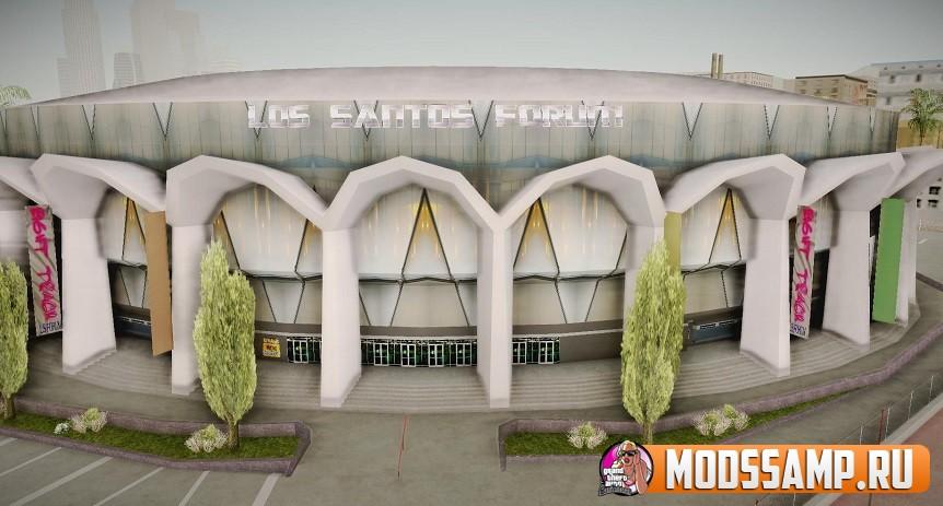 Новый стадион ЛС в 4k
