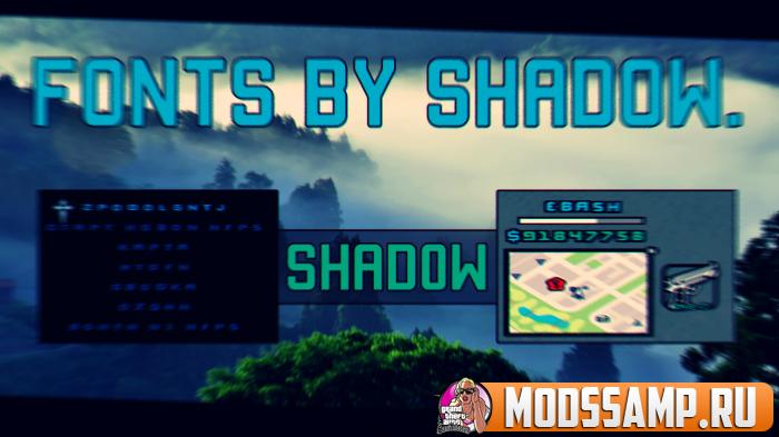 Шрифт от Shadow.