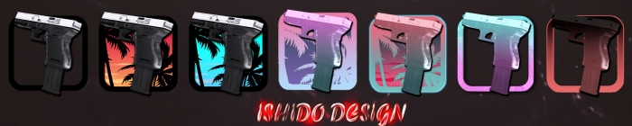 Модель Glock от I$HIDO DE$IGN