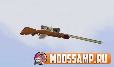 Пак оружия Low Chrome для GTA San Andreas